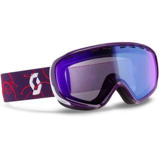Scott Dana, purple/illuminator blue - Skibrille