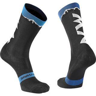 Northwave Clan Socks, black/blue - Radsocken