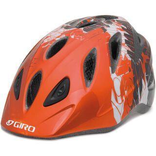 Giro Rascal, orange/charcoal blockade - Fahrradhelm