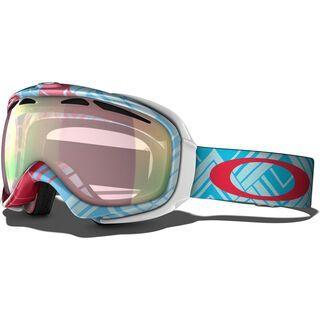 Oakley Elevate, Braided Blue/Vr50 Pink Iridium - Skibrille