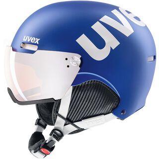 uvex hlmt 500 visor, cobalt-white mat - Skihelm