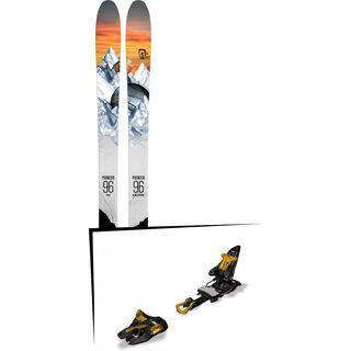 Set: Icelantic Pioneer 96 2018 + Marker Kingpin 13