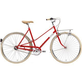Creme Cycles Caferacer Lady Solo, 3 Speed 2015, red - Cityrad