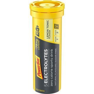 PowerBar 5 Electrolytes - Lemon Tonic (mit Koffein) - Brausetabletten