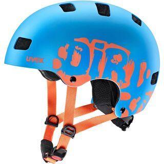 uvex kid 3 cc, blue mat - Fahrradhelm