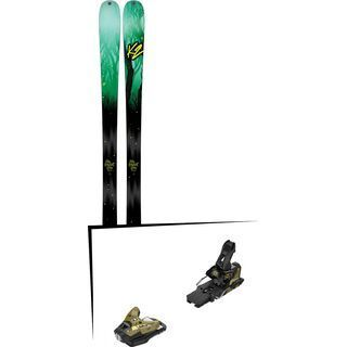 Set: K2 SKI Missconduct 2017 + Salomon STH2 WTR 16 (2212359)
