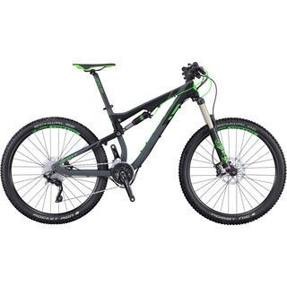 Scott Genius 740 2016, anthracite/black/green - Mountainbike
