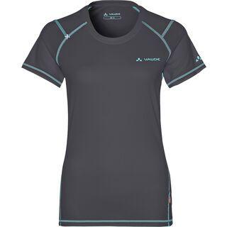 Vaude Womens Hallett Shirt, iron - Radtrikot