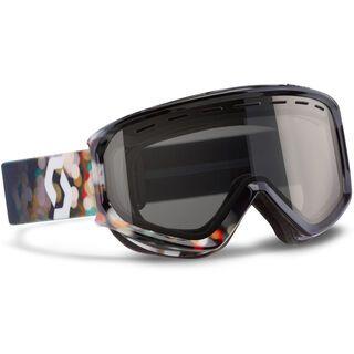Scott Level, blur black/black chrome - Skibrille