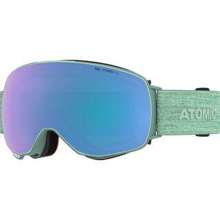 Atomic Revent Q Stereo inkl. WS, mint sorbet/Lens: blue - Skibrille