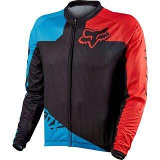 Fox Livewire Race LS Jersey, Blue/Red - Radtrikot