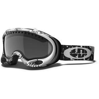 Oakley A Frame, Tagline Black/Dark Grey Polarized - Skibrille