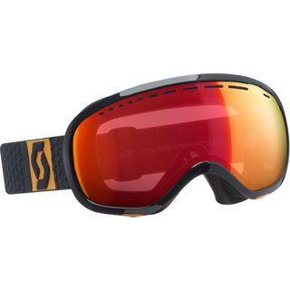 Scott Off-Grid, grey yellow/Lens: illuminator red chrome - Skibrille