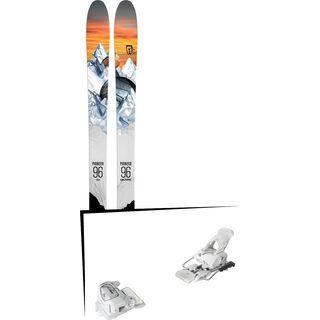 Set: Icelantic Pioneer 96 2018 + Tyrolia Attack² 12 GW matt white