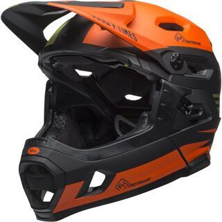 Bell Super DH MIPS Fasthouse, matte green/orange - Fahrradhelm
