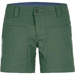 Ortovox Merino Shield Vintage Engadin Shorts W, green forrest