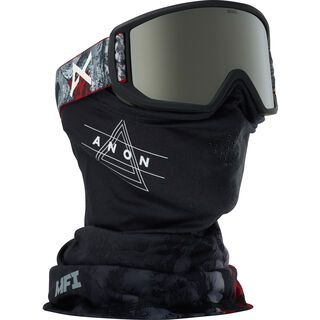 Anon Relapse MFI, red planet/Lens: silver solex - Skibrille