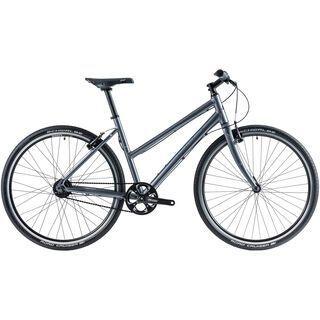 Cube Hyde Pro Lady 2014, dark grey - Urbanbike