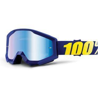 100% Strata, hope/Lens: mirror blue - MX Brille