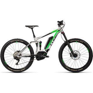 *** 2. Wahl *** Cube Stereo Hybrid 160 HPA Race 500 27.5 2016, metal´n´green - E-Bike | Größe 16 Zoll