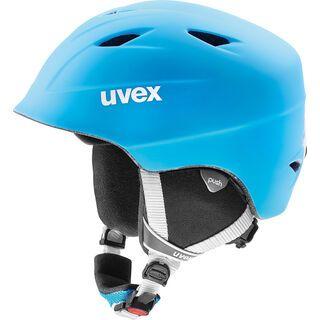 uvex airwing 2 pro, liteblue-white mat - Skihelm