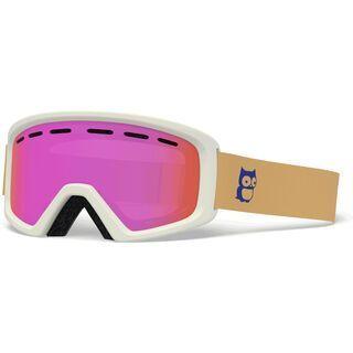 Giro Rev, harvest namuk/Lens: amber pink - Skibrille