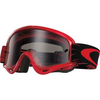Oakley XS O Frame MX, high voltage red/clear - MX Brille