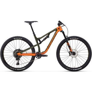 Rocky Mountain Instinct Carbon 70 2018, orange/green/black - Mountainbike