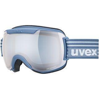 uvex downhill 2000 FM, lagune mat/Lens: mirror silver - Skibrille