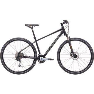 Kona Splice DL 2019, black w/ gray & mustard - Fitnessbike