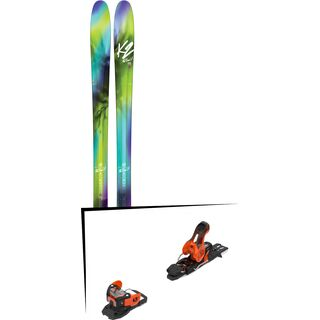 Set: K2 SKI FulLUVit 95 2017 + Salomon Warden 11 (2212331)