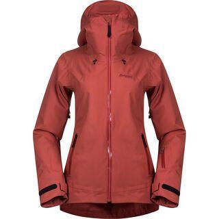 Bergans Stranda Insulated Hybrid W Jacket, lounge/bordeaux - Skijacke