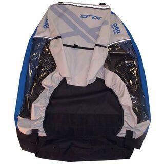 XLC Body für XLC Kinderanhänger Mono², silber/blau - Ersatzteil