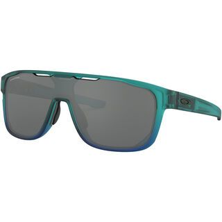 Oakley Crossrange Shield Prizm, arctic mist/Lens: prizm black - Sonnenbrille
