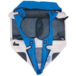XLC Body für XLC Doggy Van, silber/blau - Ersatzteil