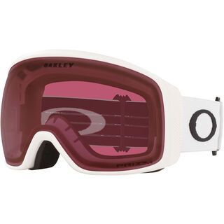 Oakley Flight Tracker XL Prizm, matte white/Lens: dark grey - Skibrille