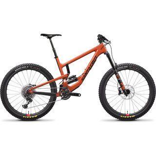 Santa Cruz Nomad CC X01 Air Reserve 2019, orange/carbon - Mountainbike