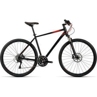 *** 2. Wahl *** Cube Tonopah Pro 2016, black red - Fitnessbike | Größe 54 cm