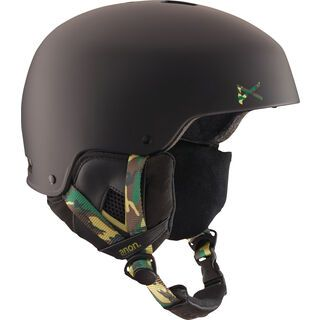Anon Striker, guerrilla black - Snowboardhelm