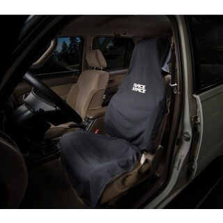 Race Face Car Seat Cover black