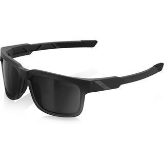 100% Type-S, soft touch black/Lens: grey smoke - Sonnenbrille