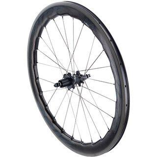 Zipp 454 NSW Carbon Clincher, schwarz - Hinterrad