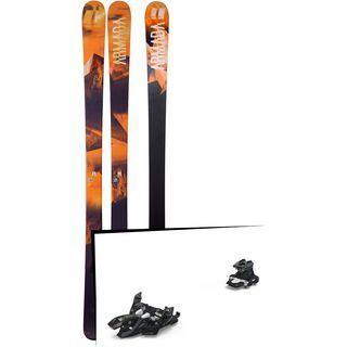 Set: Armada Invictus 85 2018 + Marker Alpinist 9 black/titanium