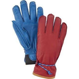 Hestra Wakayama 5 Finger, rot/royalblau - Skihandschuhe