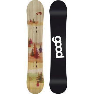 goodboards Julia Camber 2018, orange - Snowboard