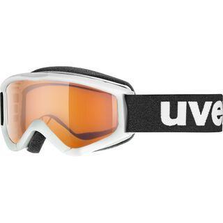 uvex speedy pro, white/Lens: lasergold - Skibrille