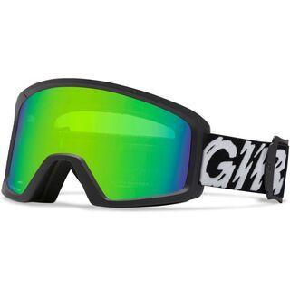Giro Blok, black static/loden green - Skibrille