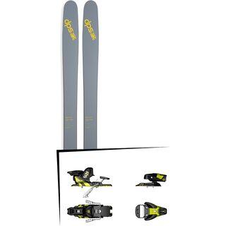 DPS Skis Set: Wailer 112 RPC Pure3 2016 + Salomon STH2 WTR 13