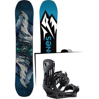 Set: Jones Mountain Twin 2017 + Burton Genesis (1712772S)