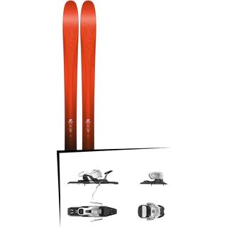 Set: K2 SKI Pinnacle 105 2017 + Salomon Warden 11 (1706220)